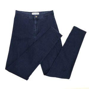 American Apparel Jeans High Waist  Skinny Jeans